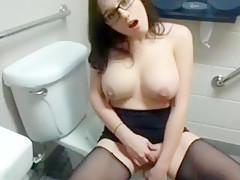 Horny homemade Brunette, Big Tits porn movie