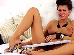 Best homemade Webcam, Brunette porn scene