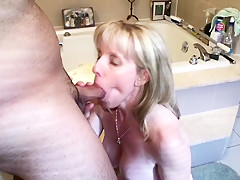 MILF Sucks A Young Pornhub Fan