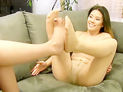 Pantyhose - Foot Play With Mercy West & Nikko Jordan