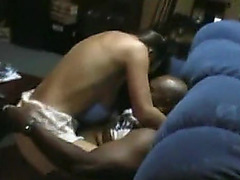 Non-Professional Hawt Wife Tries Darksome 10-Pounder 1St Time