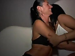 Club sex with sexy french woman