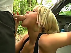 Giving Hotty A Ride In The Woods For A Quick Fuck