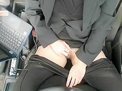 Pussy Public Finger Filthy Mouth