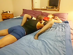 Milf Sucks And Fucks A Bbc While Hubby Films And Joins.