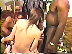 Deina interracial video
