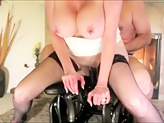Wife On The Fuck Chair