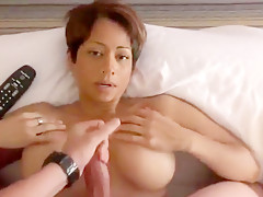 Sexy Milf Gives A Blowjob