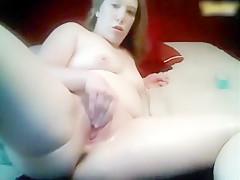 Crazy amateur spymania, Masturbation sex scene