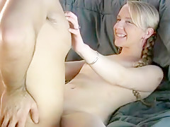 Horny homemade Small Tits, Blonde adult movie