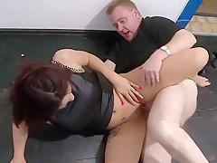 Hottest homemade Cumshot, MILF porn movie