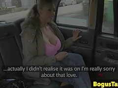 bigtits taxi british throated while fingered