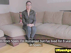 european interview amateur jizzed over specs