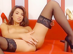 Hottest homemade LiveJasmin, Lingerie adult movie
