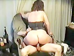 Horny homemade Creampie, Couple adult scene
