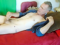 Fabulous homemade gay movie with Solo-Male, Mature scenes