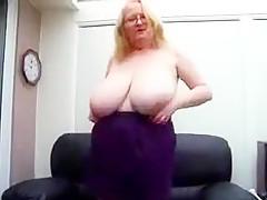 Horny homemade Blonde, Amateur porn movie