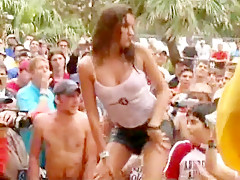 Fabulous amateur Public, Outdoor porn movie