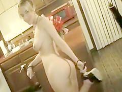 Best homemade Foot Fetish, Blonde xxx clip