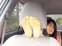 Crazy amateur Foot Fetish porn scene