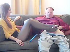 Hottest homemade Stockings adult video
