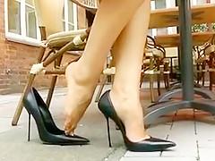 Exotic amateur Foot Fetish porn clip