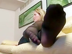 Incredible homemade Foot Fetish sex clip