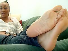 Hottest amateur Foot Fetish xxx scene