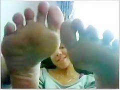 Exotic amateur Foot Fetish, Webcam xxx video