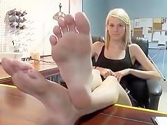 Horny amateur Blonde xxx video