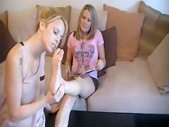 Incredible homemade Blonde, Girlfriend adult video