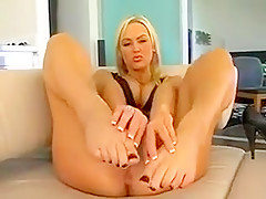 Exotic homemade Masturbation, Foot Fetish porn movie