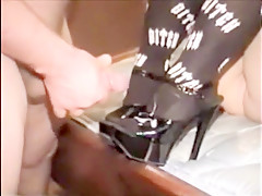 Horny homemade Foot Fetish sex video