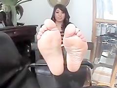 Incredible homemade Foot Fetish porn clip