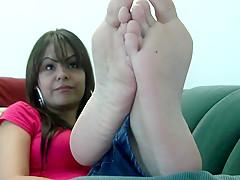 Foot fetish exotic