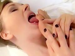 Fabulous amateur Lesbian adult video