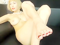 Incredible homemade Foot Fetish porn clip