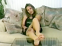 Fabulous homemade Foot Fetish xxx clip