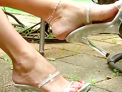 Hottest amateur Foot Fetish adult video