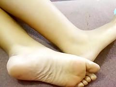 Fabulous homemade Foot Fetish adult scene