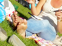 Fabulous homemade Foot Fetish porn movie