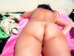 Naked Tanning On A Dutch Beach