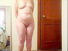 Wife thong nude home