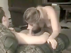 Michele Sucking Her Husband'S Friend'S Cock