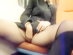 Creampie Surprise On Public Train