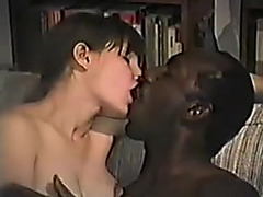 Movie Scenes of bushy wife with her dark bull