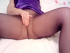 Tight/Pantyhose Pussy Play