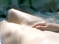 French Wife Nude At The Beach