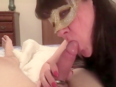 Abbeys Boyfriend Gets A Bj And Cums In Her Mouth