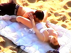 Beach Licking And Fingers